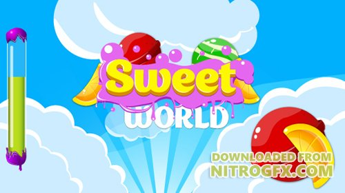 CodeCanyon - Sweet world v1.0 - HTML5 game. Construct2 (.capx) + mobile - 18623627