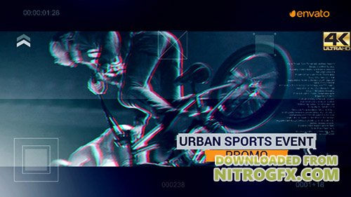 Urban Sport Event Promo - Project for After Effects (Videohive)