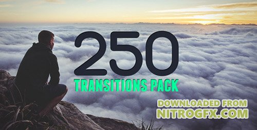 250 Transitions Pack - Project for After Effects (Videohive)