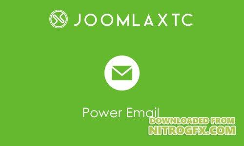 JoomlaXTC - Power Email v1.1.0 - Joomla Extension