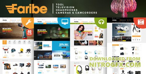 ThemeForest - Faribe v1.0 - Multi Purpose Opencart 3 Theme - 21105799