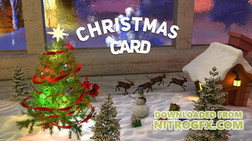 Christmas �ard - Project for After Effects (Videohive)