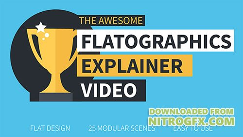 Flatographics Explainer Video - Project for After Effects (Videohive)