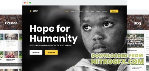 JoomShaper - Hope v1.1 - The Ultimate Charity, NGO, and Fundraising Joomla Template