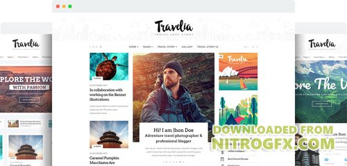 JoomShaper - Travelia v1.1 - The Best Joomla Template for Travel Blogs and Tour Guides