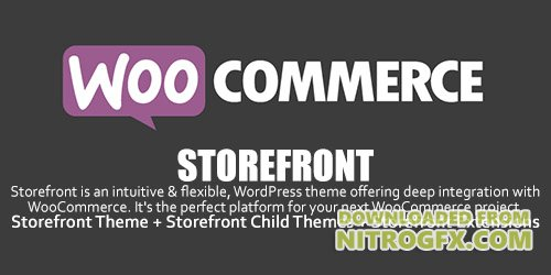 WooCommerce - Storefront v2.2.5 - WordPress Theme + Storefront Child Themes + Storefront Extensions
