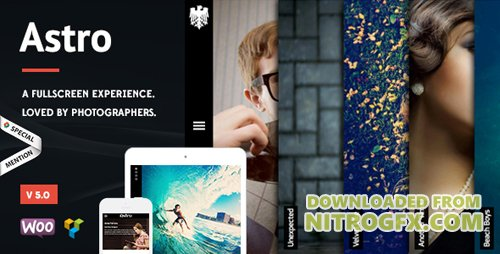 ThemeForest - Astro v5.0 - Photography WordPress Theme - 6364365