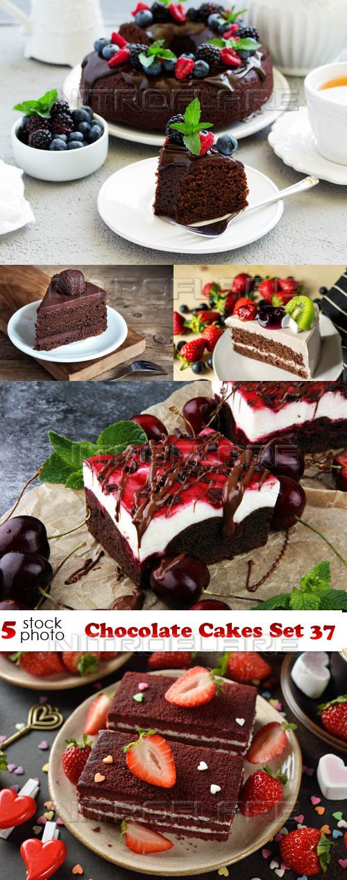 Photos - Chocolate Cakes Set 37