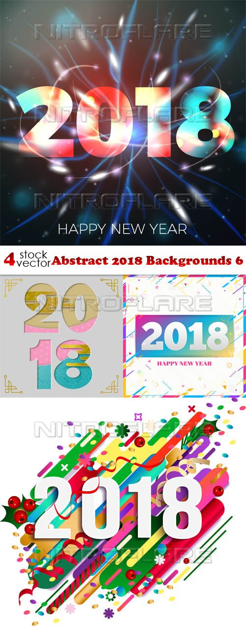 Vectors - Abstract 2018 Backgrounds 6