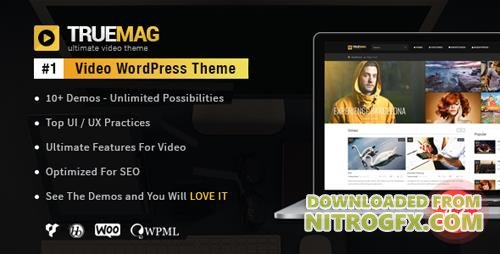 ThemeForest - True Mag v4.2.12 - WordPress Theme for Video and Magazine - 6755267