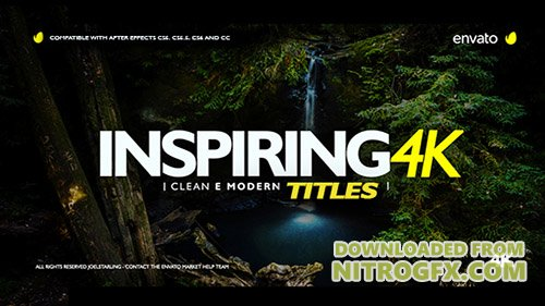 Inspiring Titles 2.0 - Project for After Effects (Videohive)