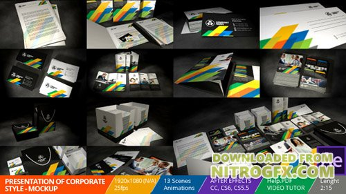Presentation of Corporate Style - Mockup - Project for After Effects (Videohive)