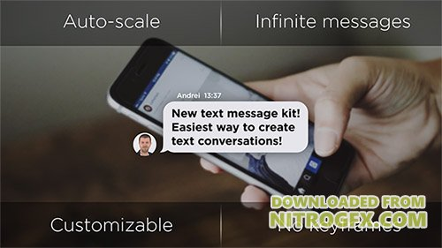Text Message Generator - Project for After Effects (Videohive)