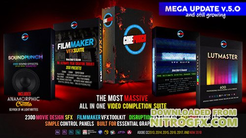 CINEPUNCH Master Suite V5.0 - After Effects Add Ons & Project (Videohive)