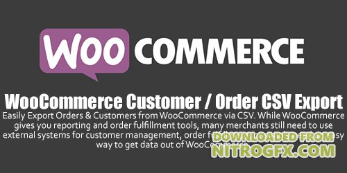 WooCommerce - Customer / Order CSV Export v4.4.1