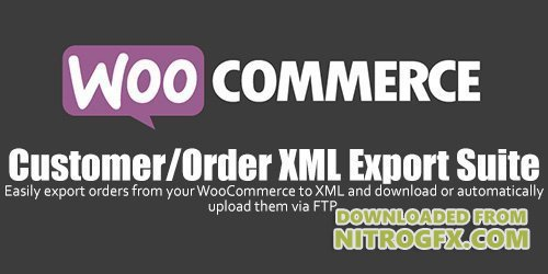 WooCommerce - Customer / Order XML Export Suite v2.3.1