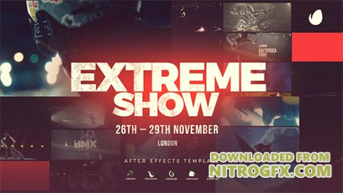Extreme Show // Sport Event Promo - Project for After Effects (Videohive)