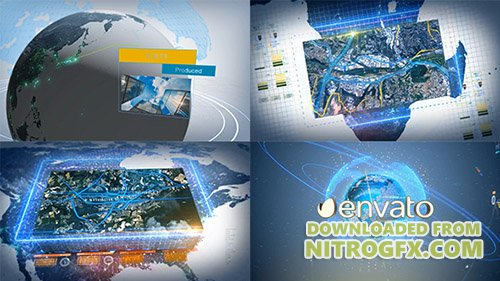 Digital Earth Motion Graphics - Project for After Effects (Videohive)