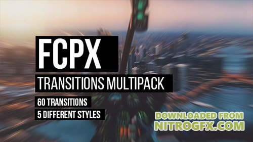 FCPX Transitions Multipack - Apple Motion Templates (Videohive)