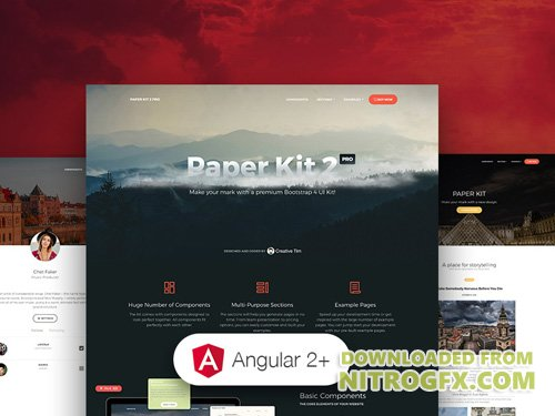 Creative-Tim - Paper Kit 2 PRO Angular v2.1.0