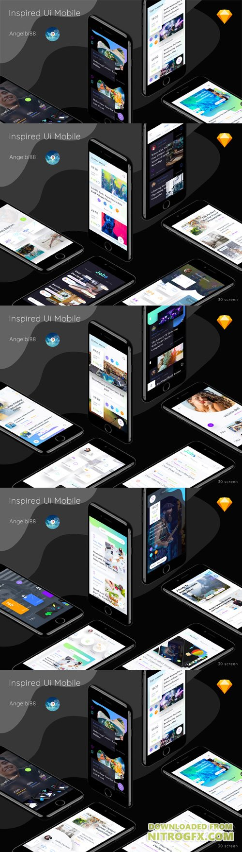 ThemeForest - Inspired Ui Mobile Part 1 - 20405227