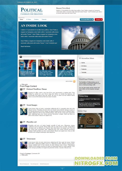 Shape5 - Political v1.0 - WordPress Theme