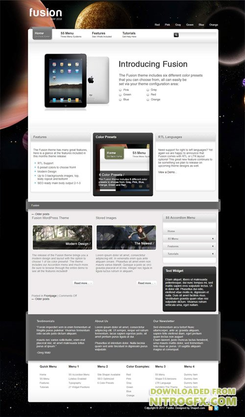 Shape5 - Fusion v1.0 - WordPress Theme
