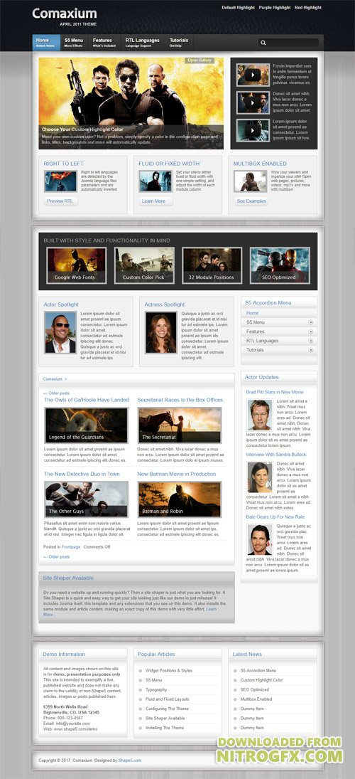 Shape5 - Comaxium v1.1 - WordPress Theme