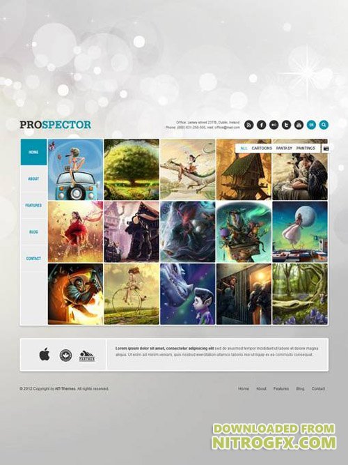Ait-Themes - Prospector v1.36 - Unique Portfolio WordPress Theme