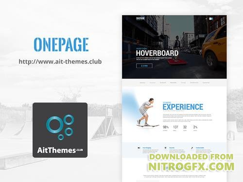 Ait-Themes - OnePage v1.18 - WordPress Theme For Business & Startups