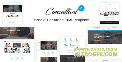 ThemeForest - Consolution v1.0 - Financial Consulting HTML Templates - 20977599