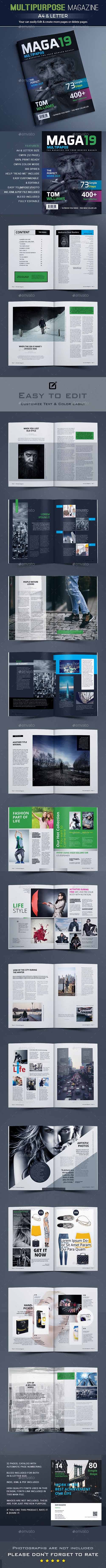 GraphicRiver - Magazine Template 21142528