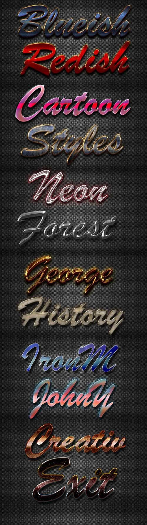 GraphicRiver - 10 3D Text Styles D_44 21143314