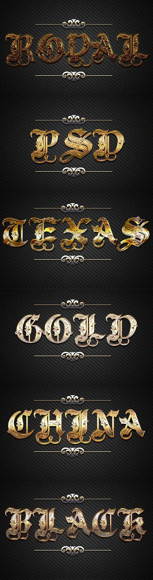 GraphicRiver - 10 3D Gold Text Styles D_47 21143260