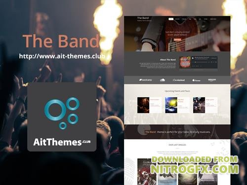 Ait-Themes - Band v1.90 - Theme for Bands Musicians