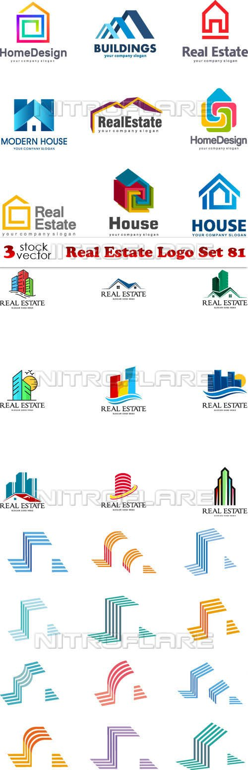 Vectors - Real Estate Logo Set 81