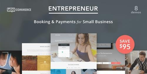 ThemeForest - Entrepreneur v1.3.6 - Booking for Small Businesses - 10761703