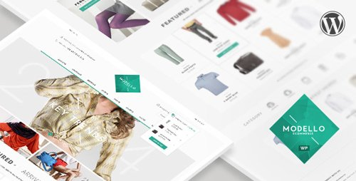 ThemeForest - Modello v1.7 - Responsive eCommerce WordPress Theme - 8115240