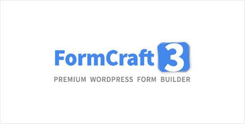 CodeCanyon - FormCraft v3.5.1 - Premium WordPress Form Builder - 5335056