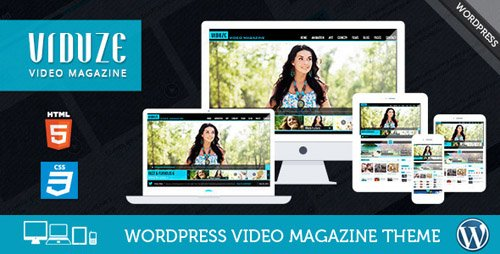 ThemeForest - Viduze v1.7.0 - Video WordPress Theme - 8505949