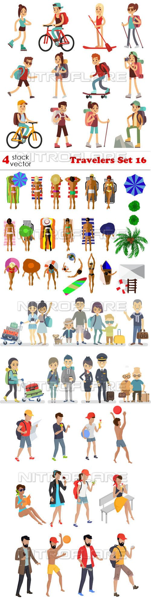 Vectors - Travelers Set 16
