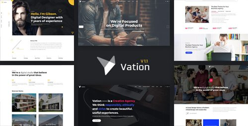 ThemeForest - Vation v1.1 - Responsive Multi-Purpose HTML5 Template - 20567189
