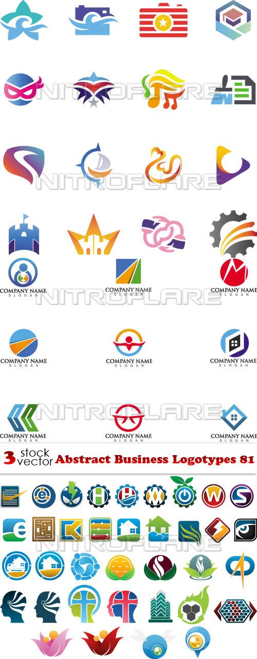 Vectors - Abstract Business Logotypes 81