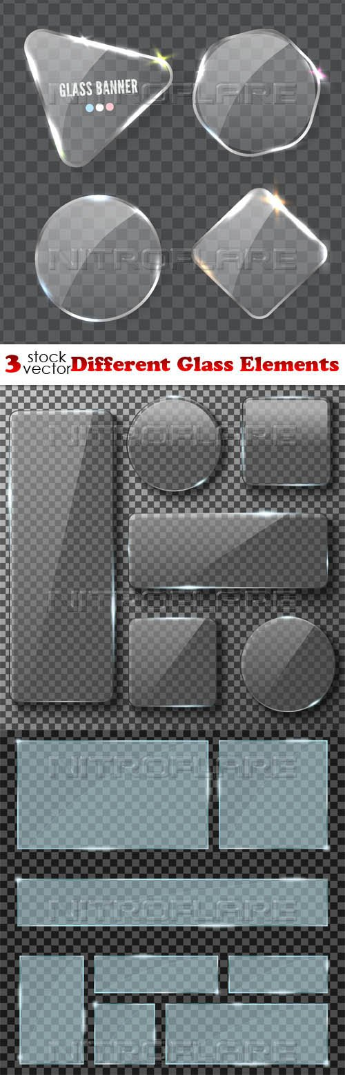 Vectors - Different Glass Elements