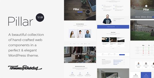 ThemeForest - Pillar v1.1.10 - Multipurpose Multi-Concept Responsive WordPress Theme - 17795788