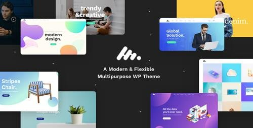 ThemeForest - Moody v1.1.2 - A Modern & Flexible Multipurpose WordPress Theme - 20524765