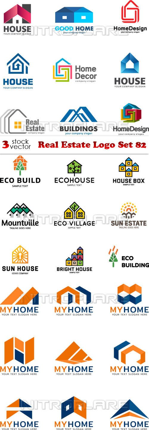 Vectors - Real Estate Logo Set 82