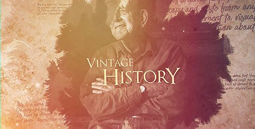 Vintage History - Project for After Effects (Videohive)
