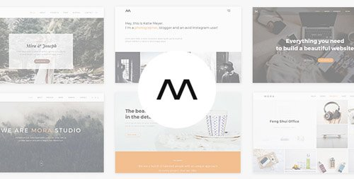 ThemeForest - Mora v1.2 - Creative Portfolio & Photography Theme - 20113776