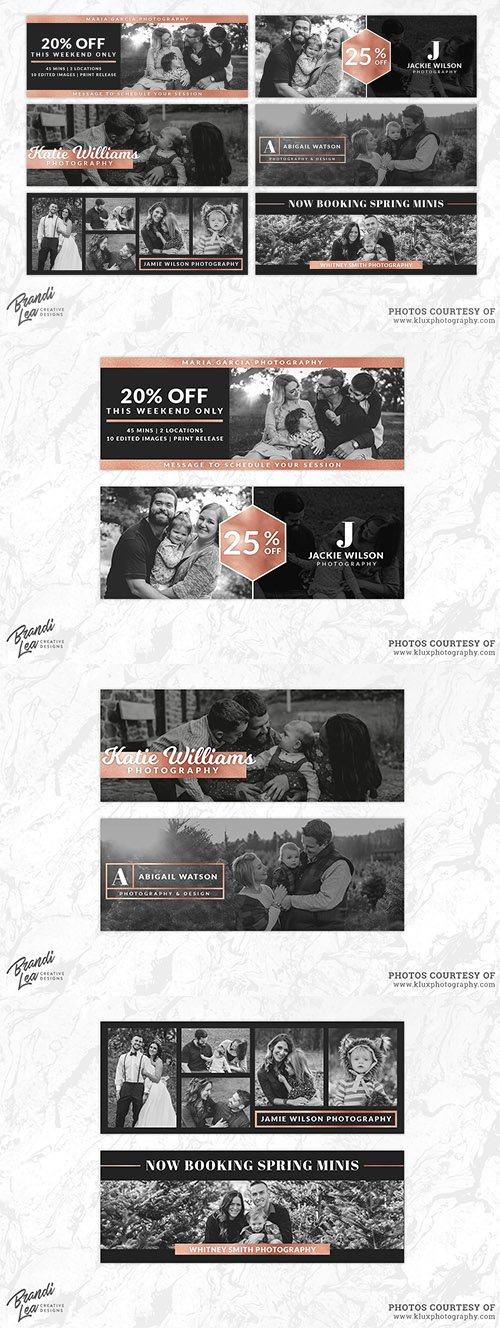Rose Gold Facebook Timeline Covers - CM 2180243